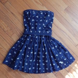 Abercrombie & Fitch Strapless Mini Dress Sz S